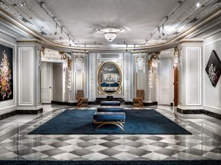 Lobby view of The Blackstone Hotel